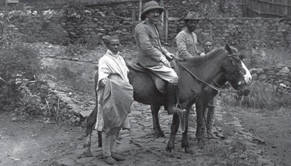 Dr. Fajtlowicz in one of his trips to Ethiopia. 1924.